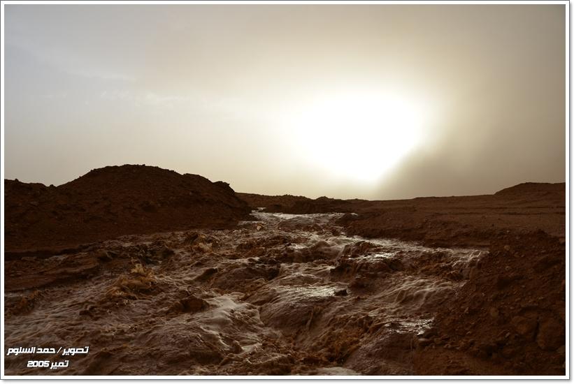الصواعق والأمطار مابين الرياض والقصيم