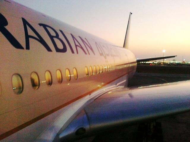 صور متنوعة من نافذة الطائرة من تصويري