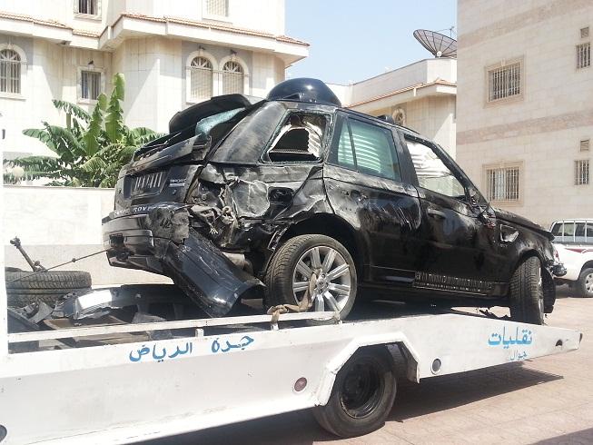 Prince Alwaleed Bin Talal Car Accident
